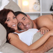 Couple in bed — Stock Photo #7802969