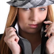 Chic womin hat — Stock Photo #7805721