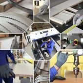 Fabryka mozaika — Zdjęcie stockowe