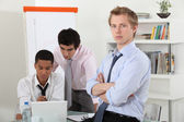 Colleagues at work. — Stock Photo
