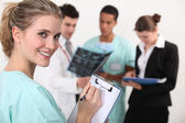 медицинский персонал — Стоковое фото