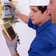 Electricians — Stock Photo #7810889