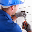 Electrician working — Stock Photo #7810961