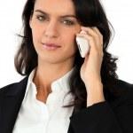 Confident businesswoman — Stock Photo