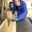 Woodwork workshop — Stock Photo