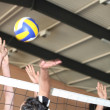 Stock Photo: Volleyball game