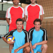 Volleyball players — Stock Photo #7812056