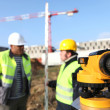 Stock Photo: Surveyors on site
