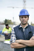 Confident foreman — Stock Photo