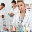 Women working in a laboratory — Stock Photo #7894411