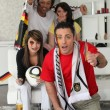 Supporters of Germany soccer team — Stock Photo #7894965