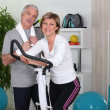 Couple at the gym — Stock Photo #7896784