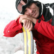 Mon skiing holiday — Stock Photo #7897462