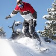 Male snowboarder — Stock Photo #7897522