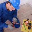 Electrician working — Stock Photo #7904304