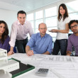 Stock Photo: Architect's office