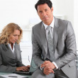 Businessman and woman — Stock Photo #7905233
