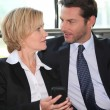 Business couple — Stock Photo #7906170