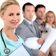 Nurse and differents jobs — Stock Photo #7906418