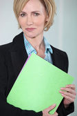 Woman in charge of recruitment — Stock Photo