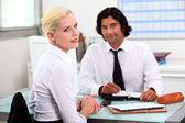 Woman applying for new job — Stock Photo