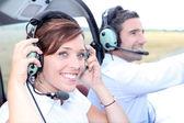 Lezione di volo — Foto Stock