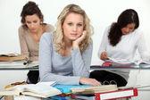 University students studying — Stock Photo