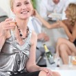 Champagne party — Stock Photo #7910256