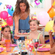 Child party — Stock Photo