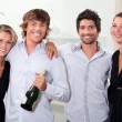 Couples celebrating — Stock Photo #7910580