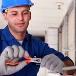 Portrait of a technician — Stock Photo #7911449