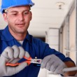 Stock Photo: Portrait of technician