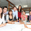 Office workers in meeting — Stock Photo #7913173