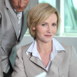 Businessman and businesswoman — Stock Photo #7913447