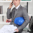 Young dynamic architect — Stock Photo #7913969