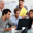 Office workers — Stock Photo #7914655