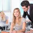 Students in classroom — Stock Photo #7916272