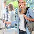 Student at school — Stock Photo #7916299