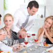 Dinner with friends — Stock Photo #7916483