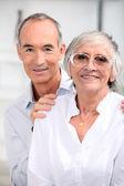 Портрет старых пара — Стоковое фото