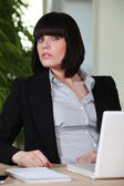 Smart young businesswoman — Stock Photo
