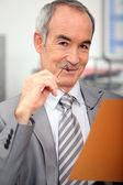 Senior businessman — Stock Photo