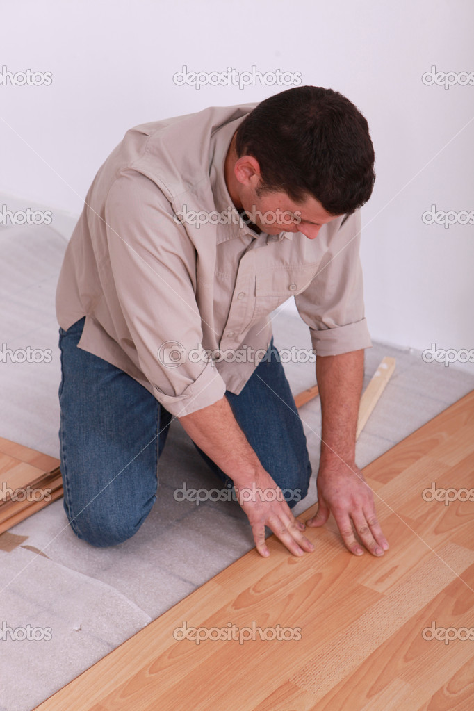 Wooden floor — Stock Photo #7912531