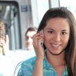 Young person on mobile phone — Stock Photo #7925021