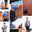 Stock Photo: Bricklayer