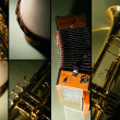 Instrument mosaic - Stock Photo