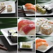 Gastronomia japonesa — Stock Photo