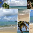 Images of an island paradise - Stock Photo