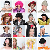 Carnival costumes — Stock Photo