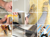 Craftsmen working — Stock Photo